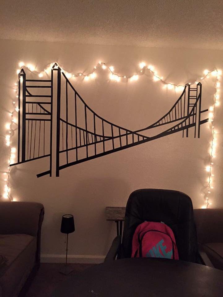Best 25+ Tape wall art ideas on Pinterest | Tape art ...