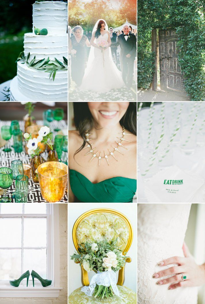 Three Wedding Color Palettes Perfect For Summer