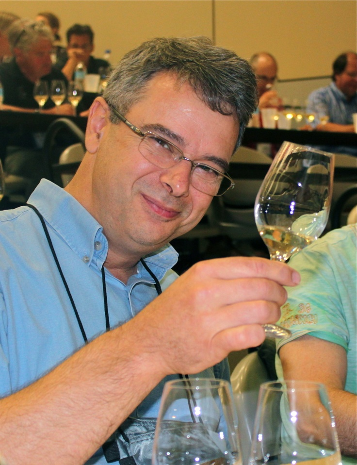 Ron Giesbrecht is Head Winemaker at Henry of Pelham Family Estate of St. Catharines, Ontario. (Photo by Elena Galey-Pride)