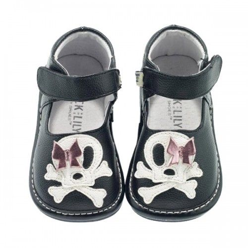 iLOVE these shoes :) they go on like a dream and STAY ON! Best shoes ever! I just wish kell had them in her size now.