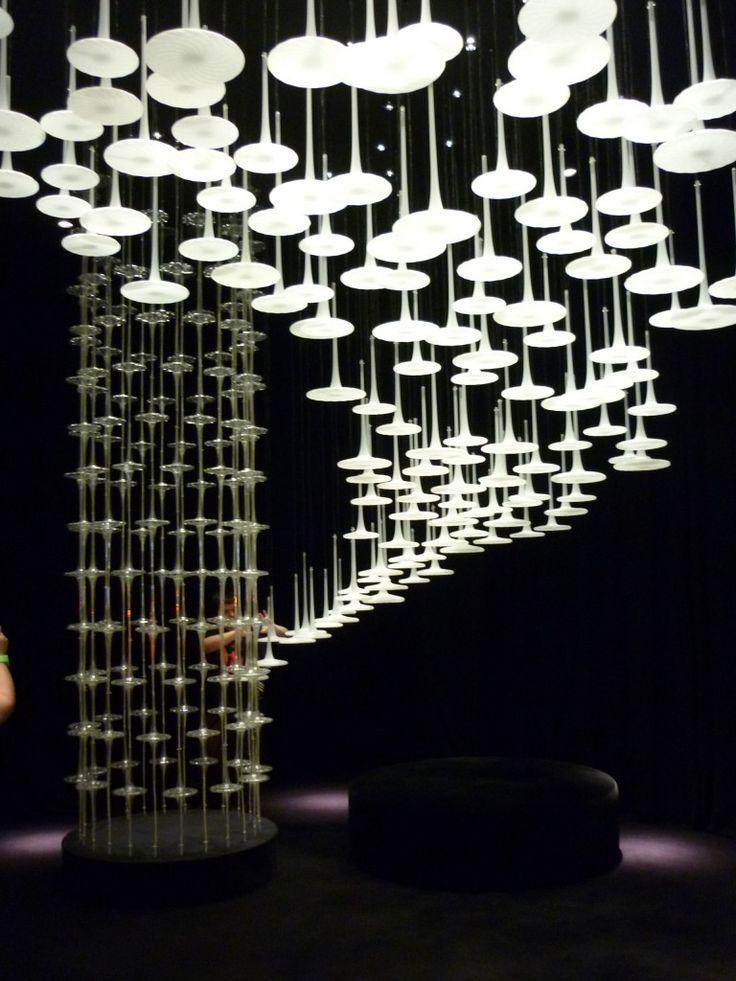 §Melogranoblu light installation fuorisalone Milan Design Week 2012
