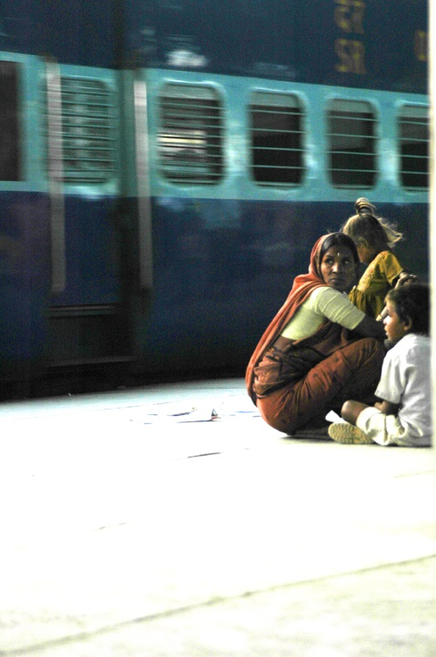 New Delhi, Railway Station, India