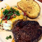 Chili's Bar and Grill Copycat Recipes: Steak and Loaded Baked Potato