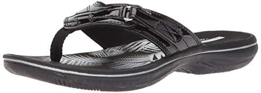 d0b40f88b08 Clarks Women s Breeze Sea Flip Flop