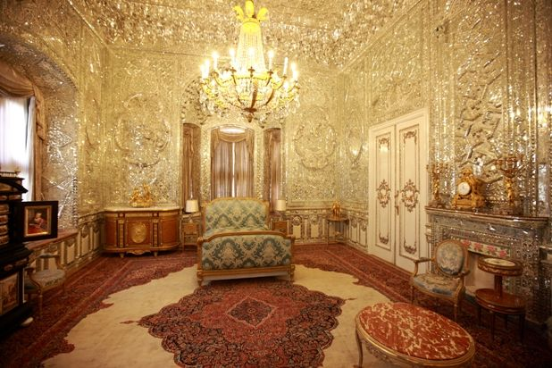 Shah Of Iran Palace Tehran Iran The Entire Room Is