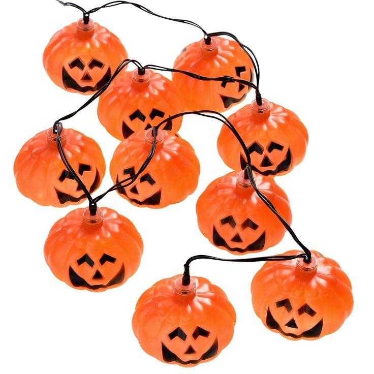 10 lumières LED avec abat-jour en forme de #Halloween #LeGuide