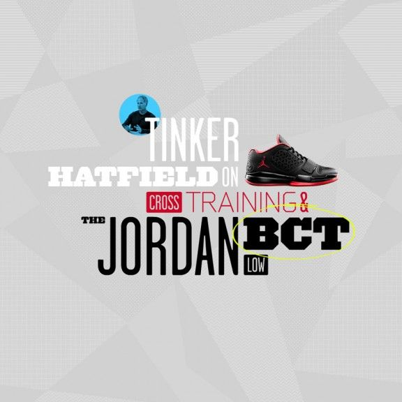 love tinker :) my HS coach and designer of all the Jordans.
