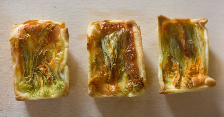 Easy, tasty, can be prepared in advance and ate at room temperature. It makes this zucchini flower canape perfect also for a picnic or when you need to take ready-to-eat food to a friend's house.