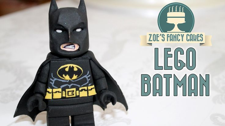 Batman lego cake topper using gum paste or fondant. You could also make your Bat man lego figure using polymer clay / fimo if you do not want the model to be...