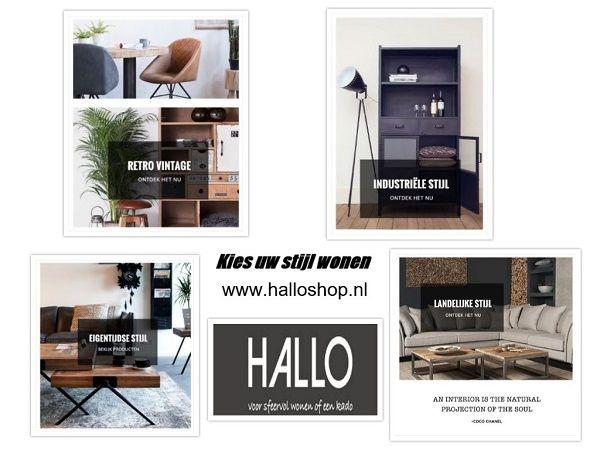 Ben je op zoek naar een #meubel in bepaalde #woonstijl? Bij Hallo XL te Waddinxveen hebben wij variërende sfeerkamers in diverse stijlen!