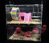 Acrylic display manufacturers custom hagen vision bird cages PCK-068