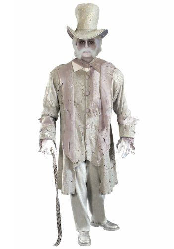 Forum Novelties Mens Halloween Gentleman Zombie Cosplay Spirit Ghost Costume One Size -- Check out the image by visiting the link.