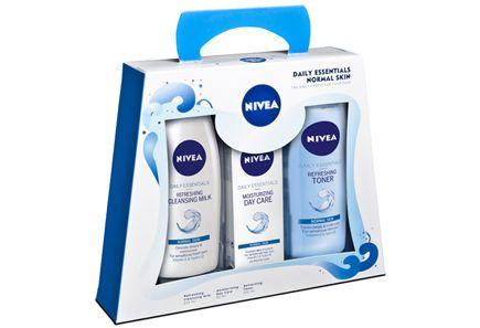 Nivea - Nivea Visage Pure & Natural -lahjapakkaus