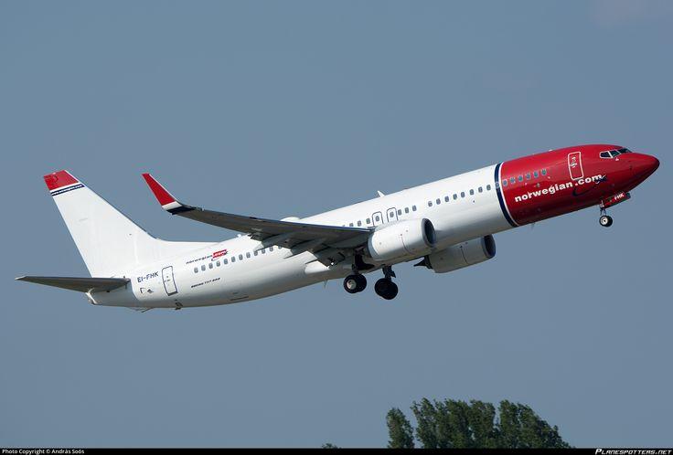 EI-FHK Norwegian Air International Boeing 737-8JP(WL)