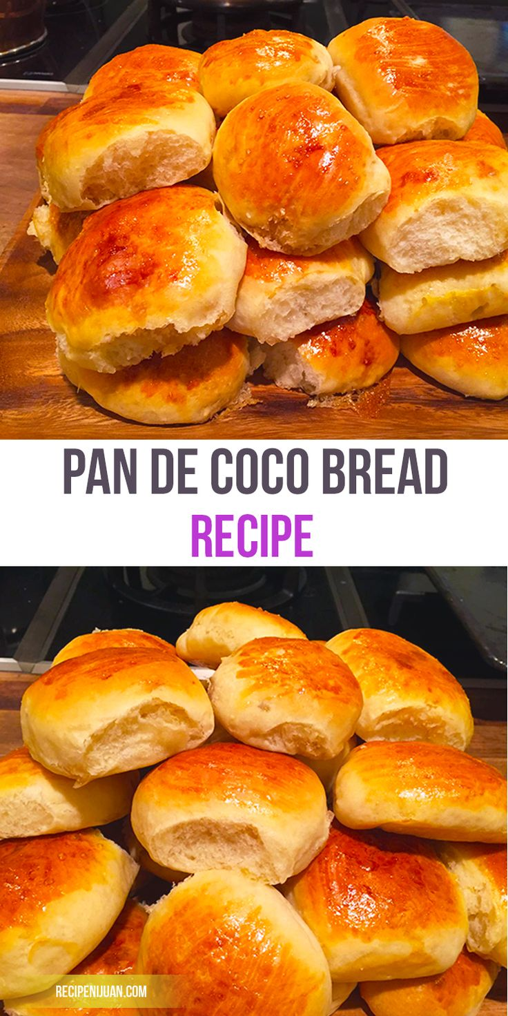 The grated coconut which serves as the filling of the Pan de Coco can either be included as is as it is already dehydrated or it can be cooked in caramelized sugar giving the coconut filling its distinct brown color.