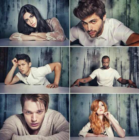 Emeraude Toubia, Matthew Daddario, Harry Shum Jr., Isaiah Mustafa, Dominic Sherwood, and Katherine McNamara