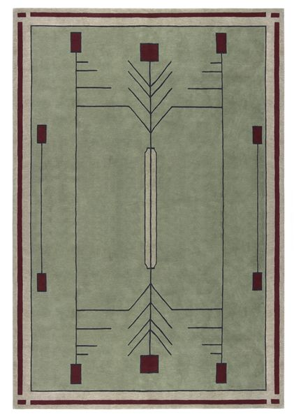 Stickley Prairie Rug Arts Amp Crafts Franklloydwright The