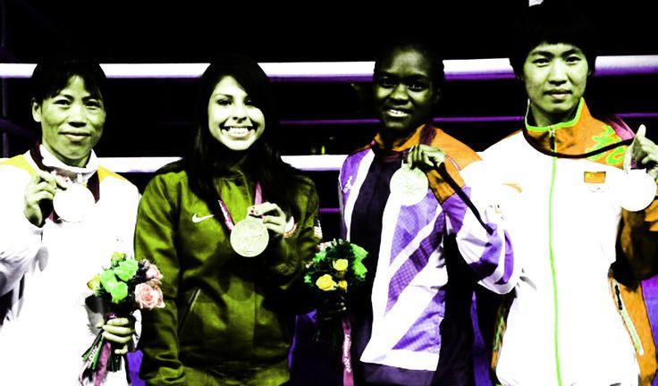 london united kingdom 2012 olympic gold medalist nicola adams of great britain