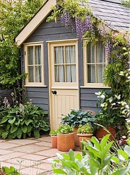 tuinhuis schilderen