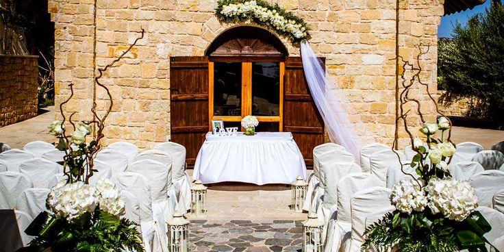 Свадьба в часовне Святого Рафаэля, Лимассол, Кипр - свадебный пакет от ресторана Sailor's Rest Lounge Bar - iBride.com