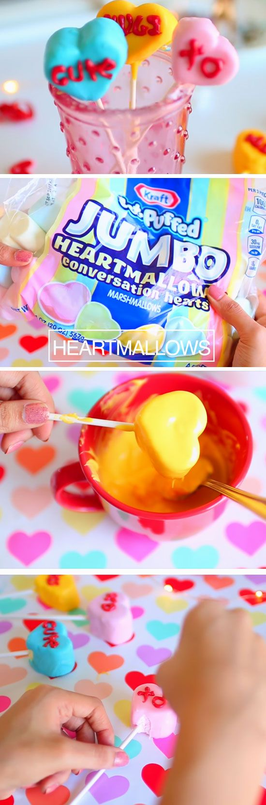 Conversation Heart Pops | DIY Valentines Day Gifts for Him | Cheap Valentines Ideas for Boyfriends
