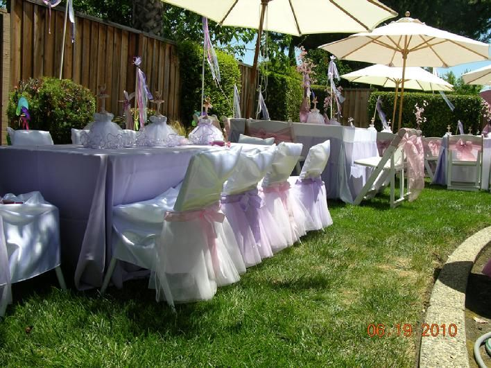 Backyard Birthday Party Ideas Sweet 16 not to mention i live for throwing parties so thats what we did this weekend Cute Outside Party Decor For Quince Or Sweet 16