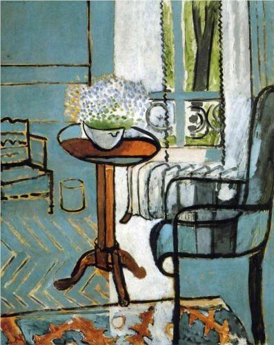 The Window -- Henri Matisse, 1916