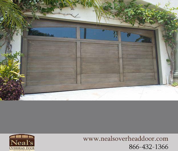 Reclaimed Vintage Wood Custom Garage Doors, Designs and Installation - Southern California, Orange County