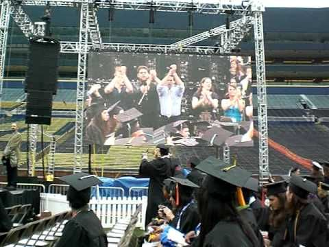 """University of Michigan Fight Song, """"The Victors"""" @ 2010 Commencement - YouTube"""