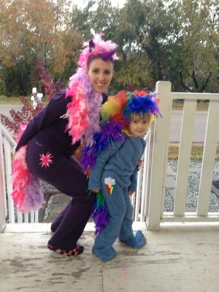 My Little Pony Costumes: Twilight Sparkle And Rainbow Dash