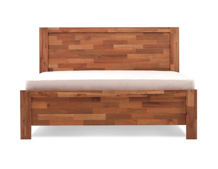 PHILIPPE - Queen size bed - Walnut