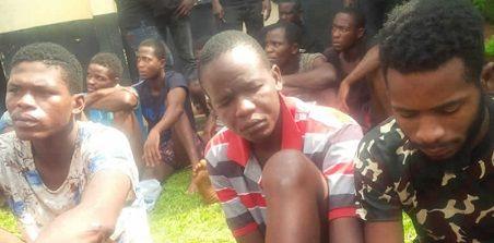 Police Parade Suspected Killers Of UNIBEN Prof