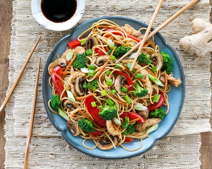 Spaghetti Lo Mein from Cook the Pantry by Robin Robertson
