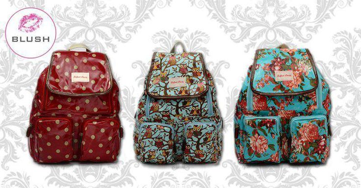 Huge savings at #Blush with this great deal! #SoGoodCandy backpacks now only R 295 - save R100! Get your hands on one while stocks last, E&OE