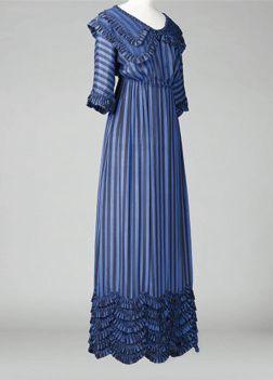 Jeanne Lanvin - Robe, 1911, Crêpe de soie imprimé noir Collection Palais Galliera