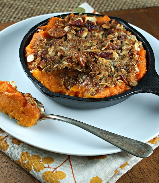 Brandied Yams with Pecan Crumble Topping Yams: 8 Medium yams (about 6 ...