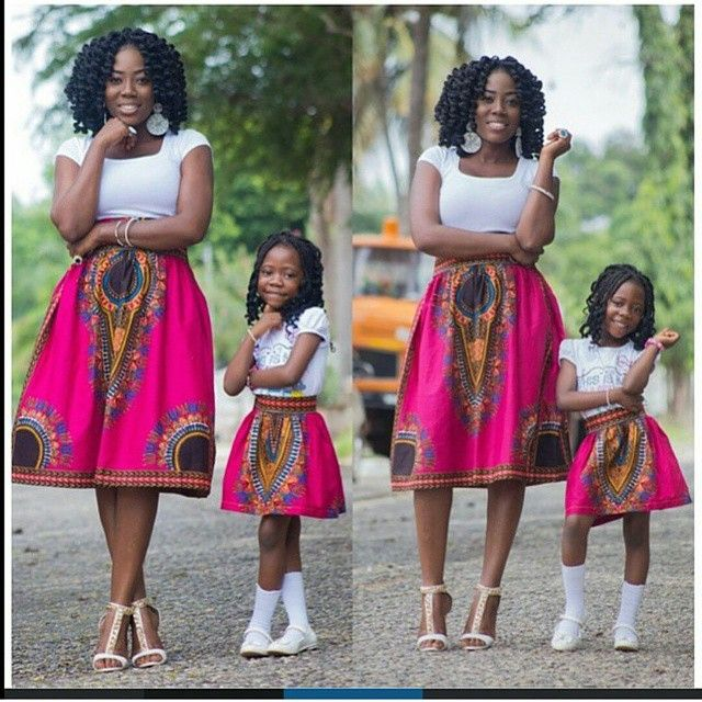 17 Best Images About Mom And Daughter Outfits On Pinterest Mothers African Print Dresses And