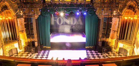 The Fonda Theatre - Seems like a big-ish hollywood night club / music venue... Equiv. to like showbox maybe? No events to woo me though :(