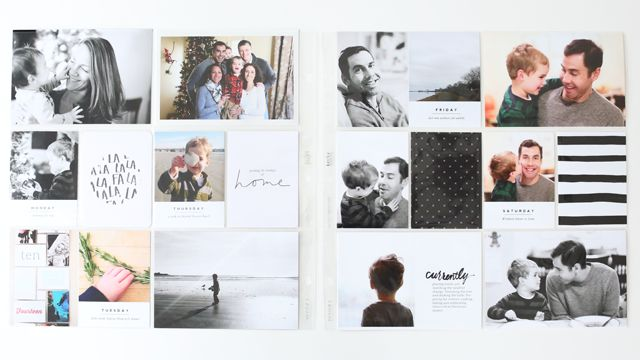 Hi there, I'm Catherine. I wrote a guest posthere in 2013 and I'm so happy to be regularly contributing this year as a member of the Paislee Presscreativeteam. I like to keep my Project Life layouts pretty simple, but when I take a lot of random photos in a month, the 12×12 pages can start …