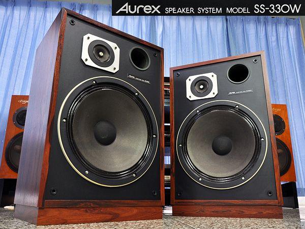 東芝 オーレックス フロア型 Aurex SS-330W クワッド チューン品_画像1