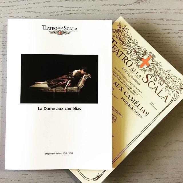 """La Dame aux camélias"" al Teatro alla Scala"
