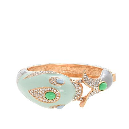 Dolphin bangle from J. Crew.