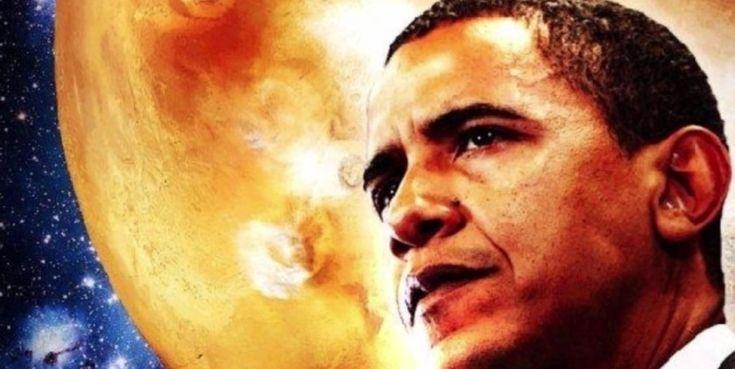 Барак Обама: американцы ступят на Марс к 2030-му году
