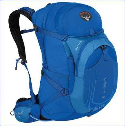 Osprey Manta 36 pack in blue.