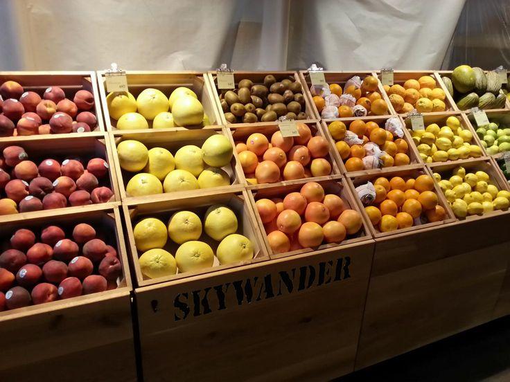 Bedýnky na jižní ovoce od SKYWANDER