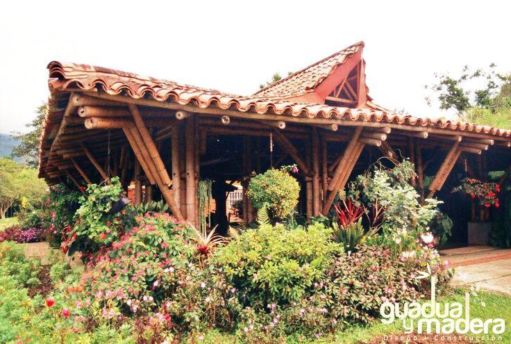 Kiosco dachi déi <nuestra casa>. Tocotá, Dagua - Valle del Cauca.2003