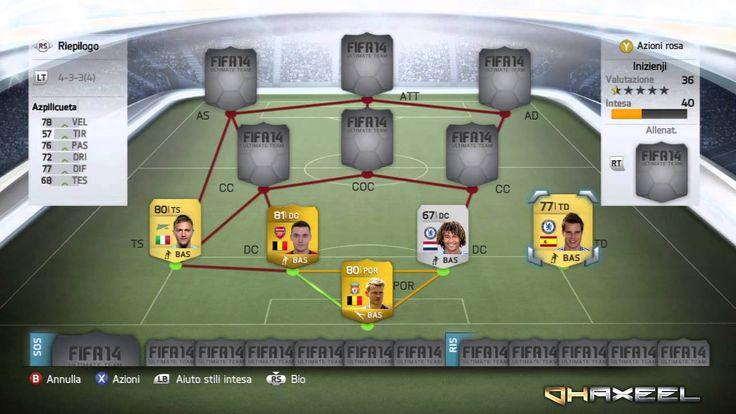 FIFA 14 ULTIMATE TEAM   FIFA 14 SQUADRA PER INIZIARE    FIFA 14 STARTER ...