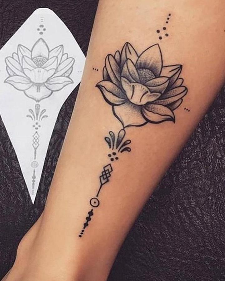 Lotus Flower Tattoo – diy tattoo images