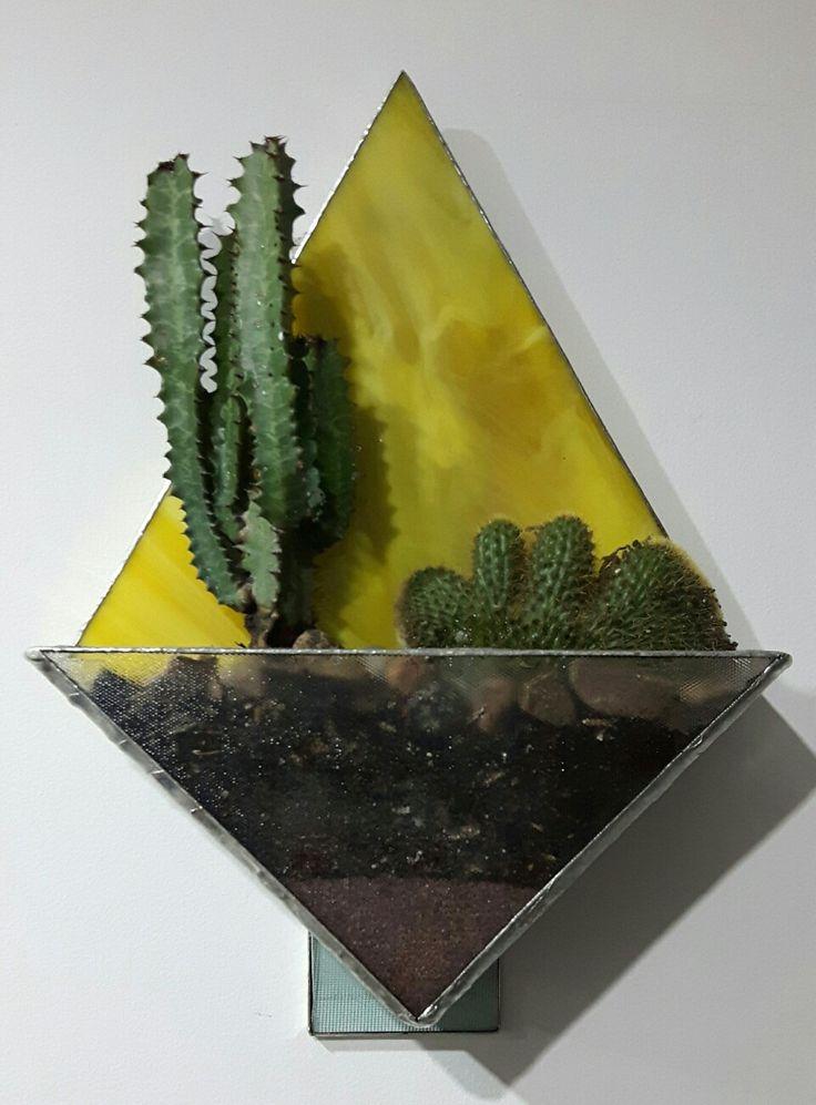 Terrario en vitral