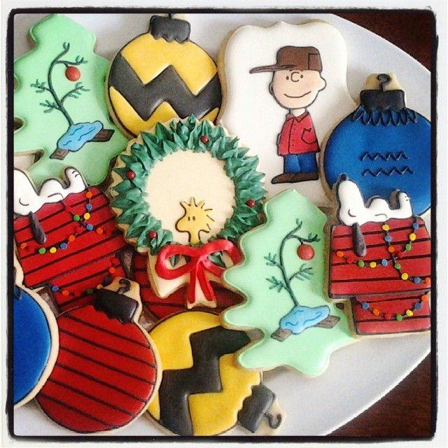 Charlie Brown Christmas cookies!